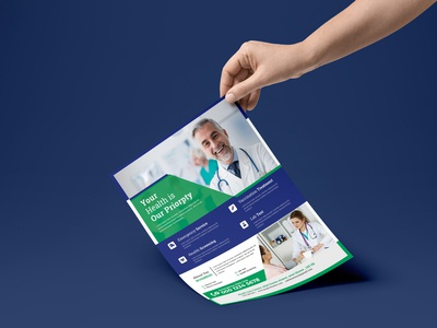 Medical & Healthcare Flyer Template