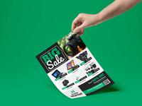 Big Sale Product Promotion Flyer