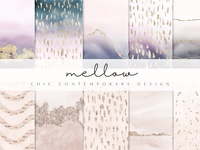 Contemporary Watercolor Mellow