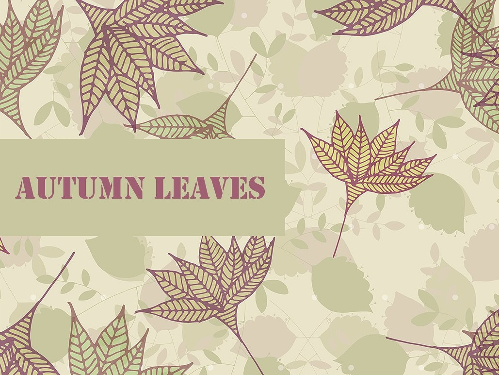 Autumn Leaves Seamless Pattern gold fabric pattern fabric dowload free download free branding print pattern modern elegant texture color design