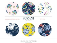 Suzani, Vintage Mod Prints & More!