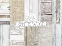 WHITE WOOD digital paper