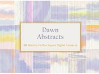Dawn Abstract Dreamy Sunrise Set