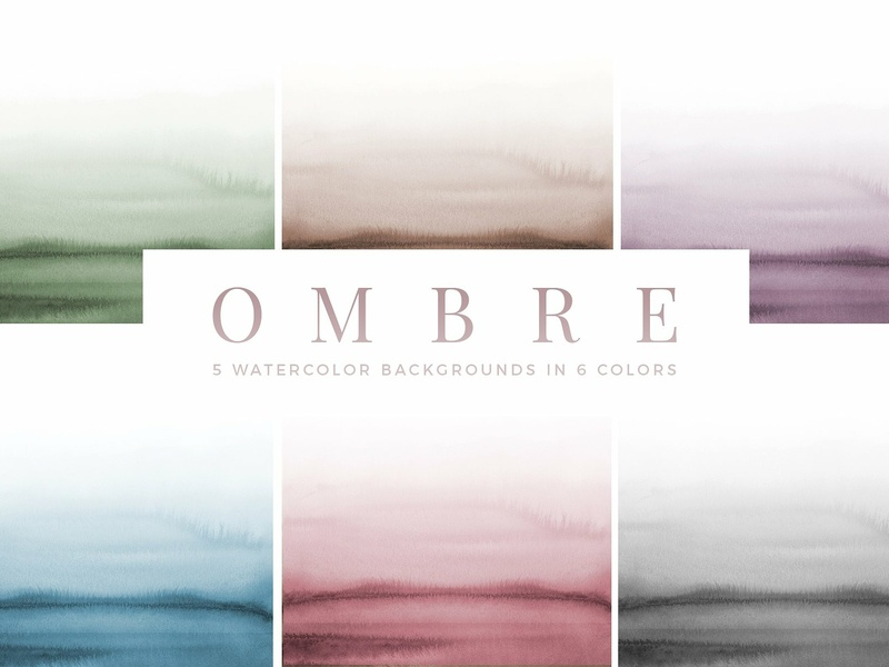 Ombre Watercolor Backgrounds By Pattern Texture On Dribbble