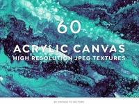 60 Acrylic Paint Textures