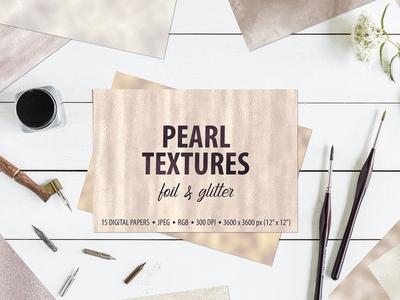 Pearl Foil & Glitter Textures