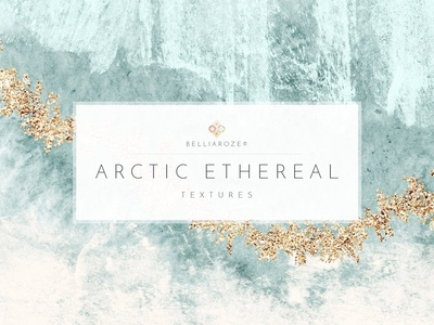 Watercolor Textures Arctic Ethereal