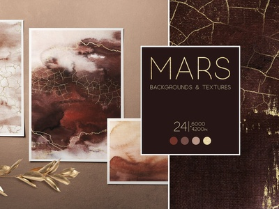 """""""MARS"""" Abstract backgrounds"""