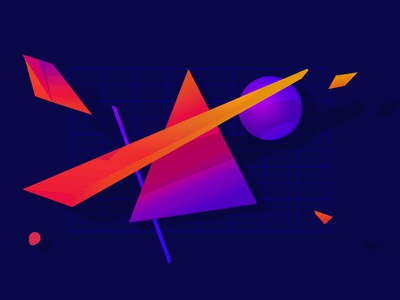 Abstract Homepage Background portfolio abstract render 3d c4d cinema
