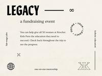 Legacy Fundraiser