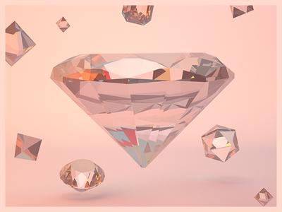Gems cinema4d cgi c4d abstract 3dg 3d