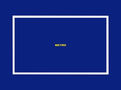 Metro website animation web ux ui