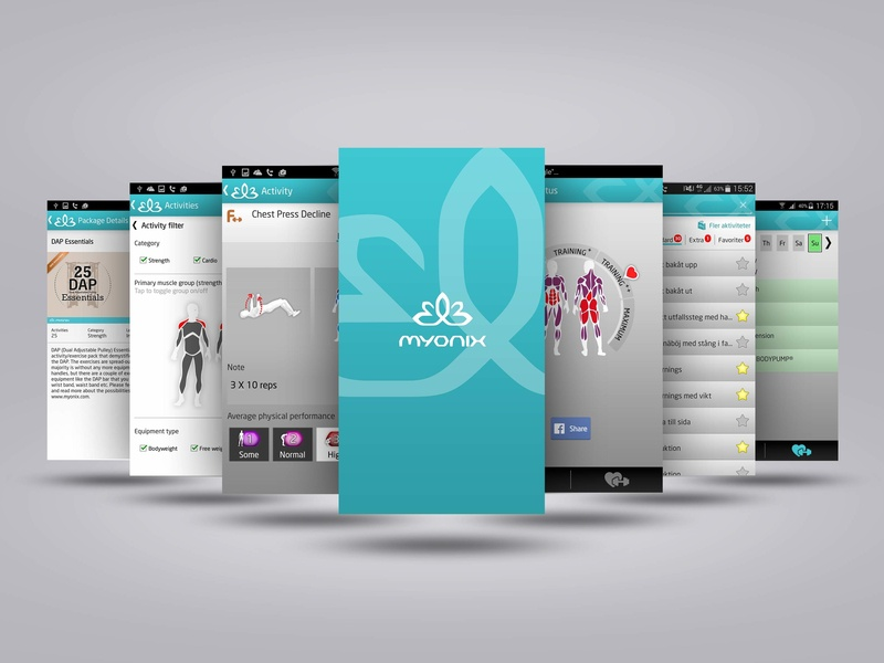 Myonix App Concept and Design project management ui ux concept