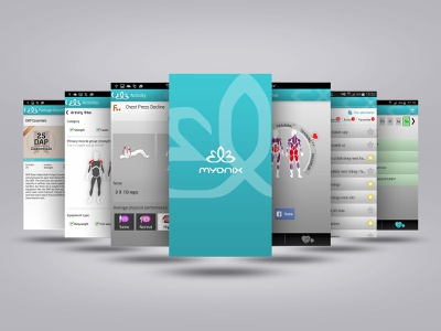 Myonix App Concept and Design project management ui ux concept