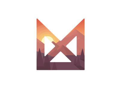 Logo Illustration logo illustration low poly color