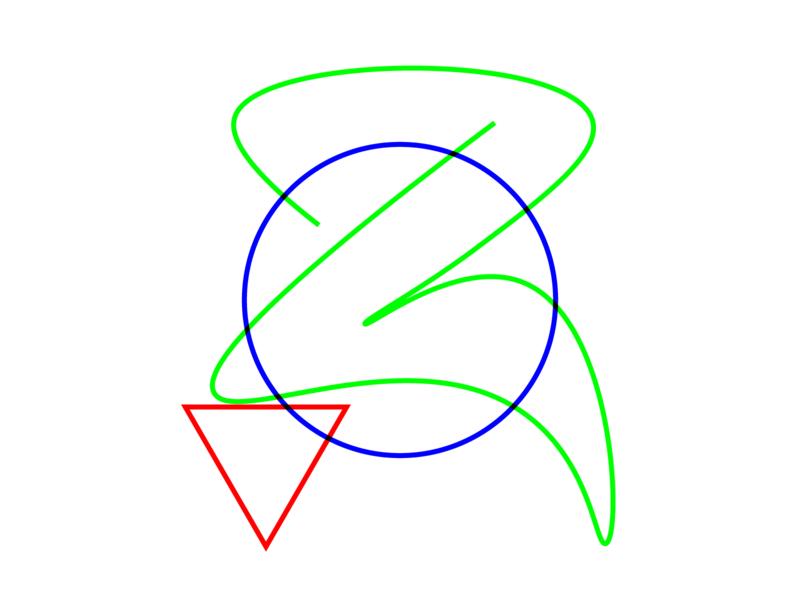 RGB Suprematism abstract outline suprematism constructivism vivid vector illustaror rgb