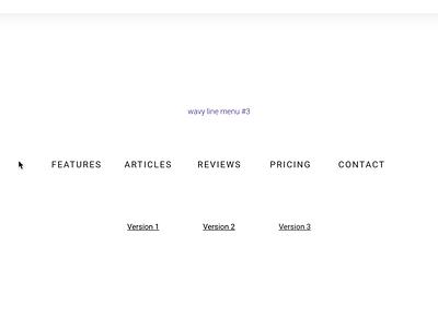 137 dribbble 1600x1200 website concept web design website webflow ui animation lottie interactions menu animation after effects