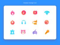 Gradual change Icon