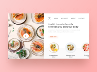 Freebie - Dietbasket Landing Page Concept