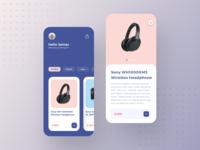 E- Commerce App Concept