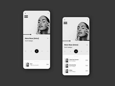Music Player app dailyui009 ui ux adobe xd music player app music player ui music app music player music player user interface dailyuichallenge ux user experience ui design interface dailyui 100daysofui dailyuidesign