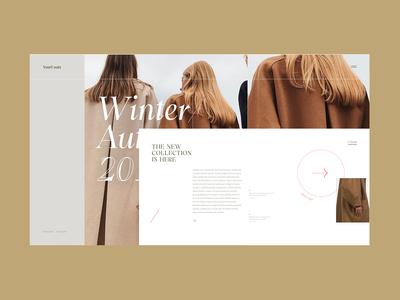 YourCoats . Fashion Platform Home Page