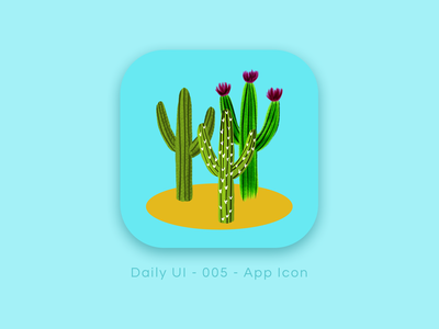 Daily UI 005 - App Icon illustration app icon dailyui 005 dailyuichallenge 005 dailyui