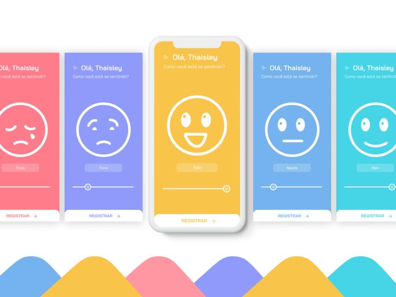 Cogni - Study emoji emotion study redesign app ui ui design design