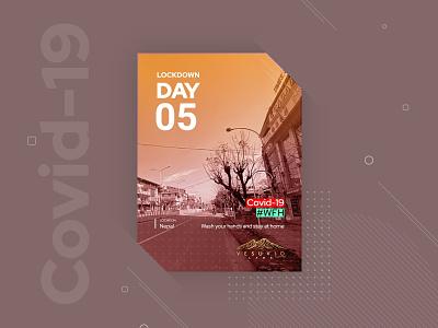 Covid 19 wfh vesuvio labs banner design covid-19