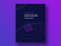 Cover design for Templating Design Guidelines