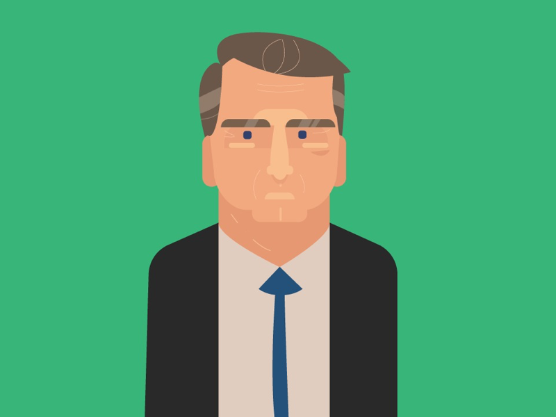 Can u guess who it is? cubstudio style character vector illustration motion