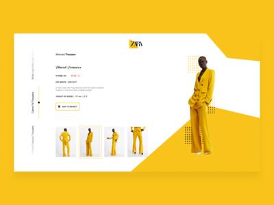 Zara E-Commerce (Web Page)