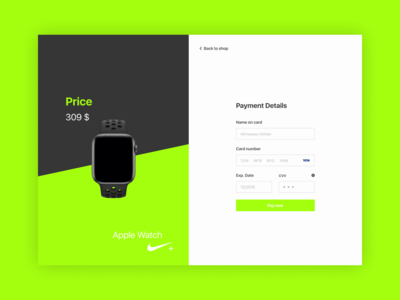 Daily Ui(Payment Page)