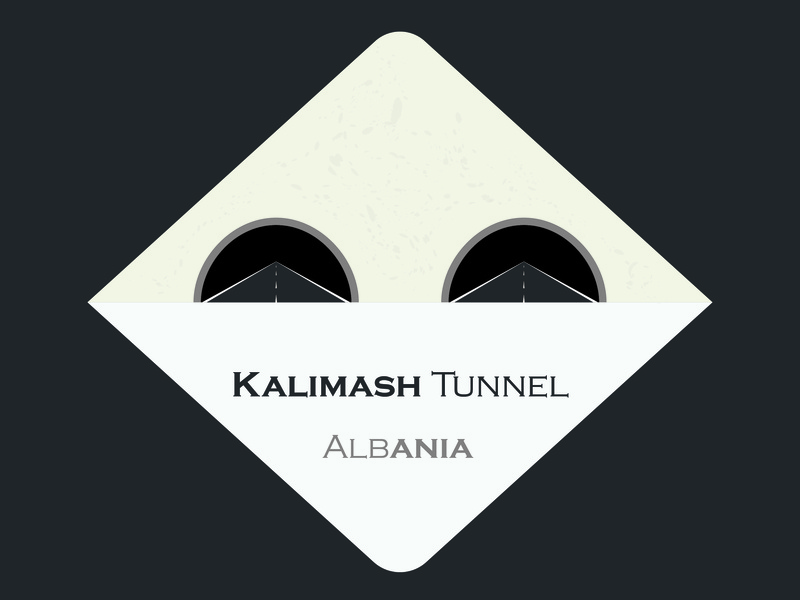 Kalimash Tunnel 1a type identity illustrator ui icon design illustration logo vector adobe illustrator cc