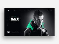 Adidas Redesign Concept - Home