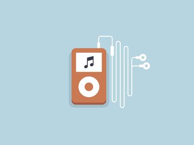 Flat iPod