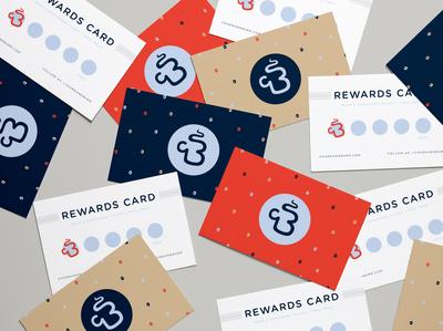 Churn & Burn Logo Design + Reward Cards