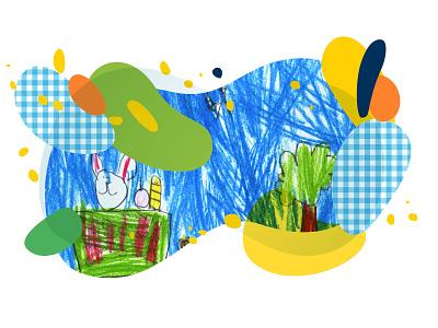 Schools - Banner webdesign flat design illustration
