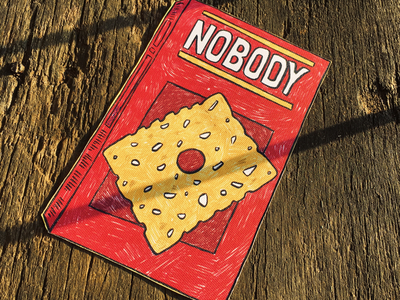 Nobody photo photography biscuits salty crackers cereal kellogs cheesy cracker nobodys business mr. nobody nobody funny humor typography sticker packaging snacks cheez it cheese