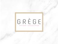 Logo - Grège Artisan Chocolatier