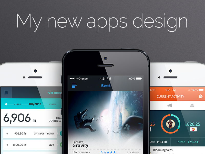 My new apps design ! Coming soon app design redigma graphicdesign ux ui iphone 4 iphone 5