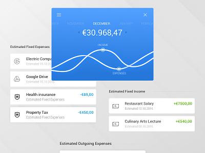 Mobile app account  future design product money account ui ux mobile