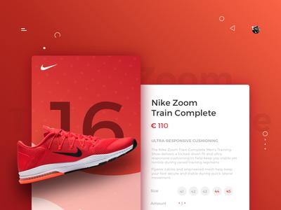 E-Commerce Nike Concept Shop