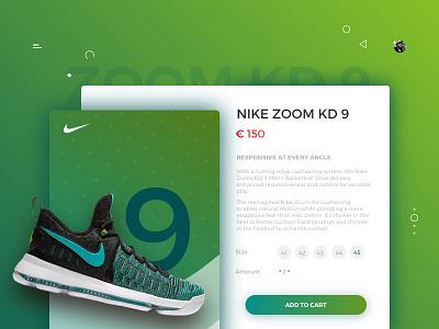 E -Commerce Nike Concept Shop sketch3 ui ux concept website shoes ecommerce nike