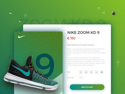 E -Commerce Nike Concept Shop