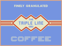 Triple Line Coffee Logo