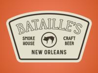 Bataille's BBQ Logo