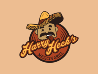 Harry Heck's Mexican Grill Logo