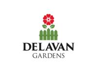 Delavan Gardens Logo
