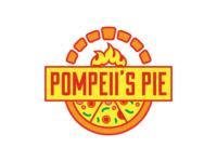 Pompeii's Pie Pizza Logo